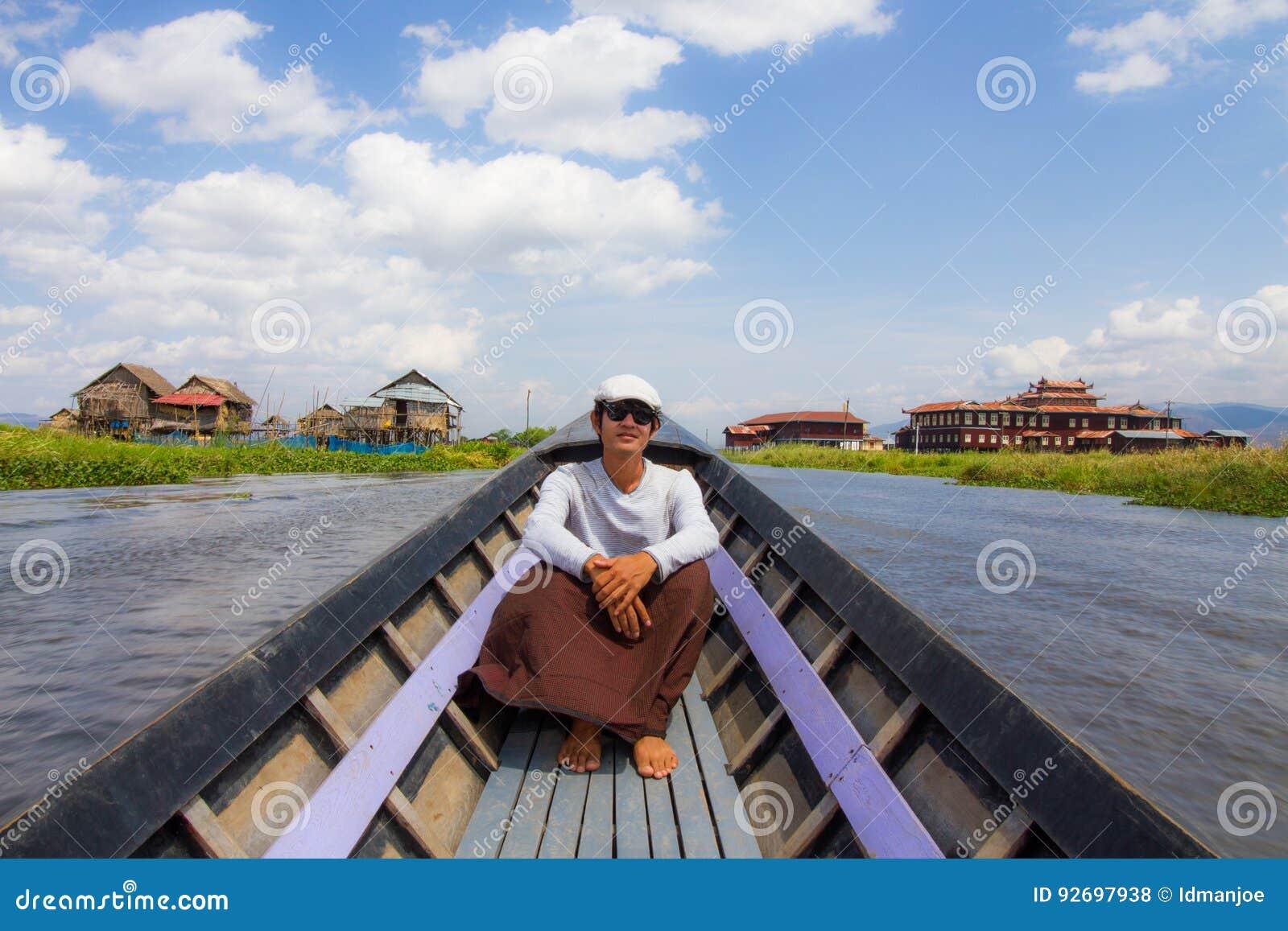 Floating Gardens On Inle Lake Myanmar Editorial Image - Image ...