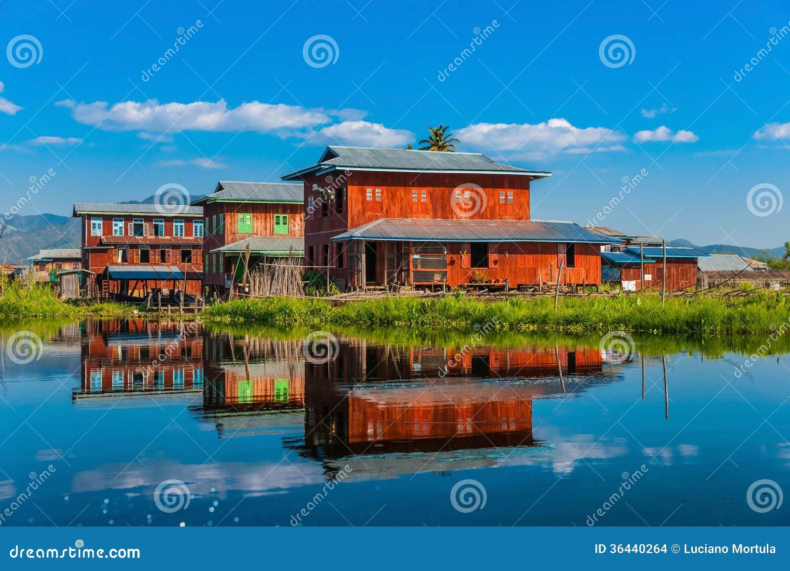 Inle Lake Myanmar Stock Images Image 36440264
