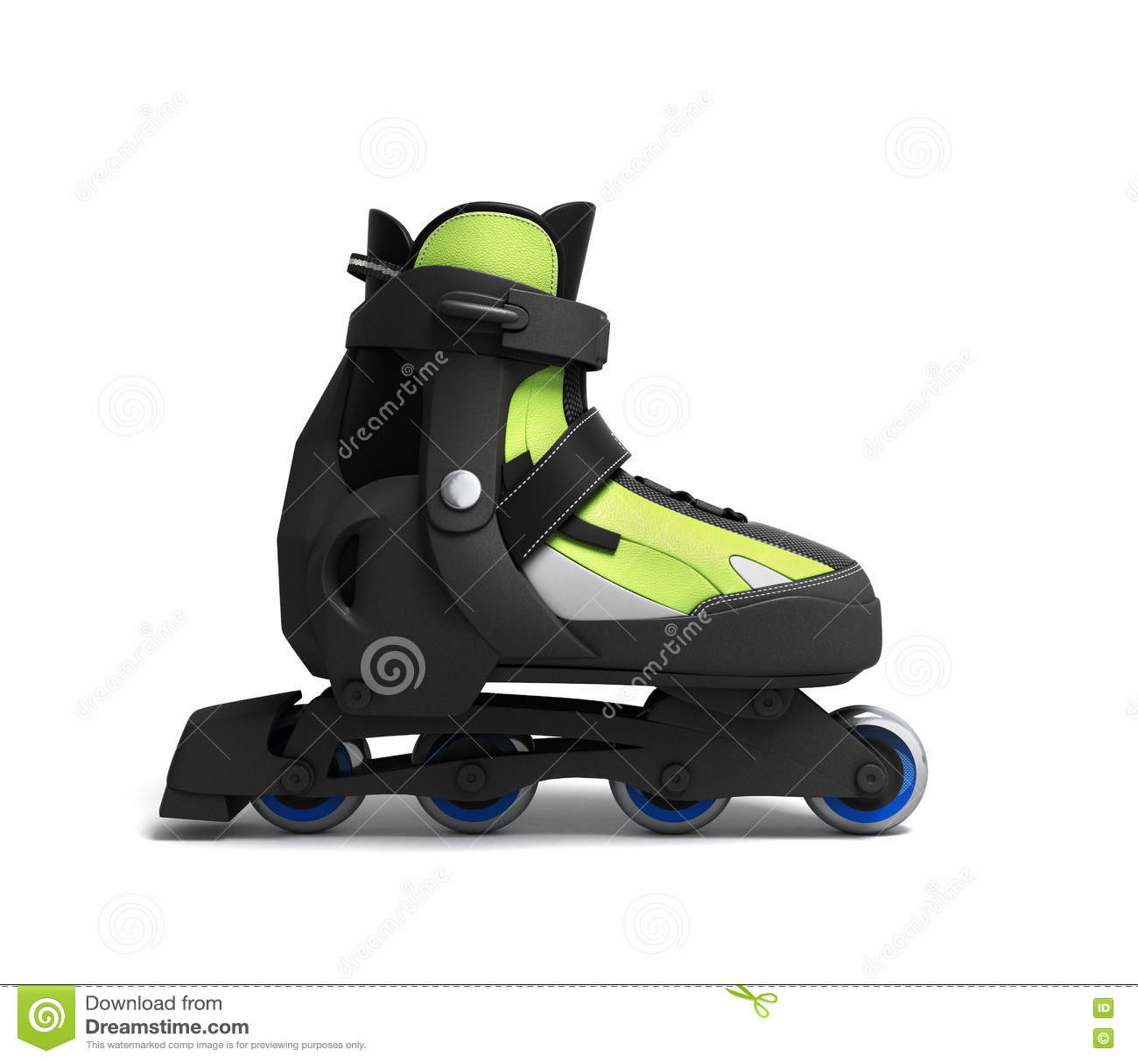 3d roller skates isolated stock photography for 3d kuchenplaner roller