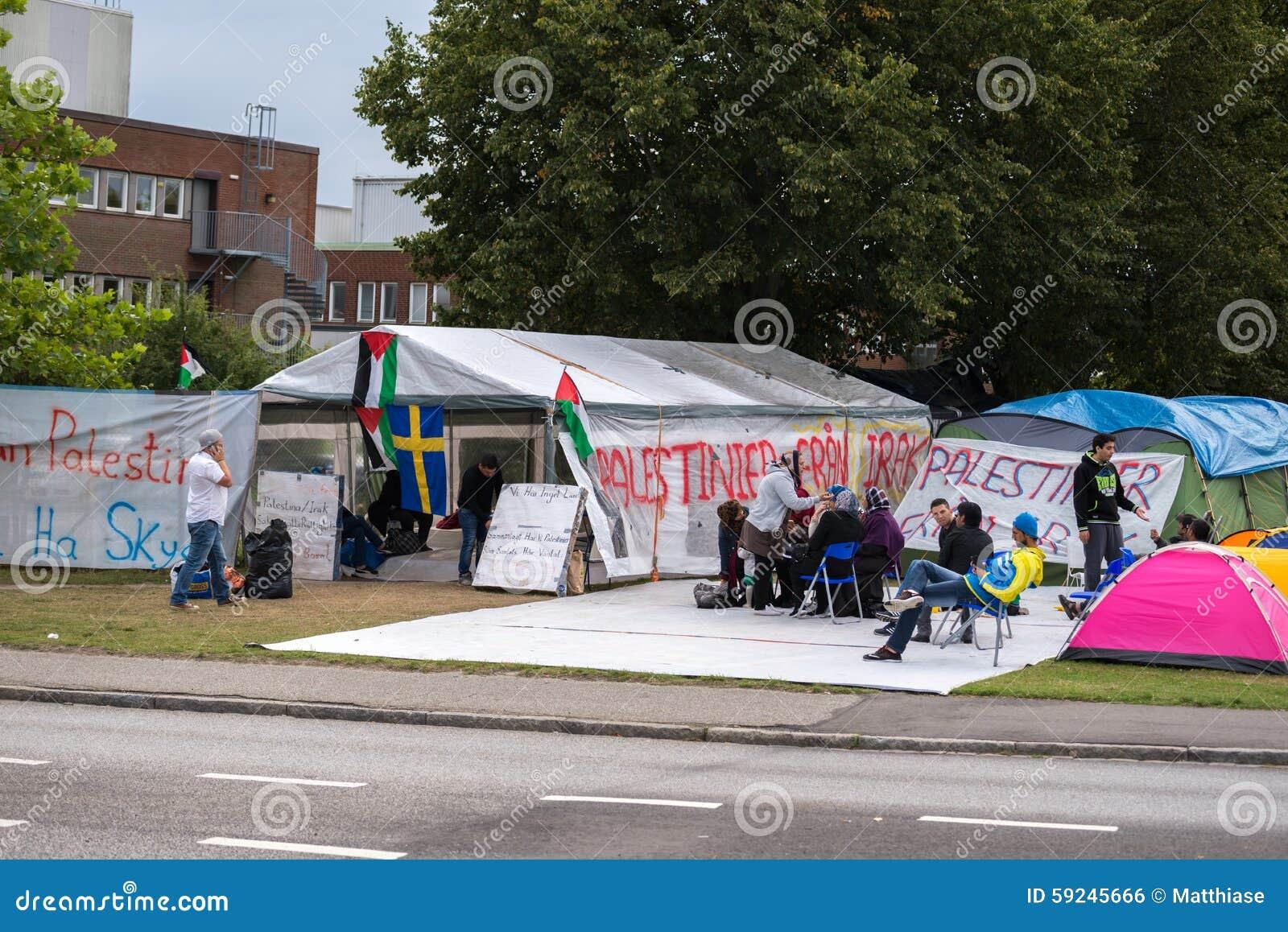 Inmigrantes de Gaza - Suecia 2015