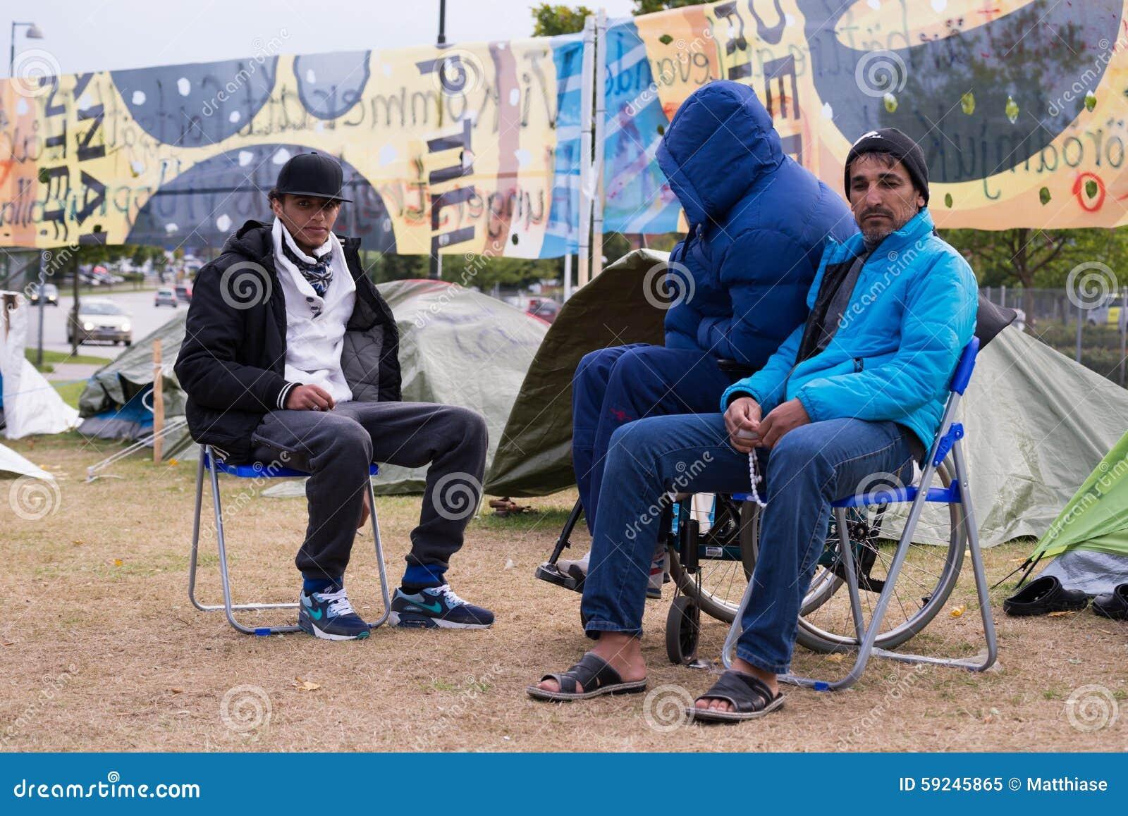 Download Inmigrantes De Gaza - Suecia 2015 Imagen editorial - Imagen de cruz, ciudadanos: 59245865