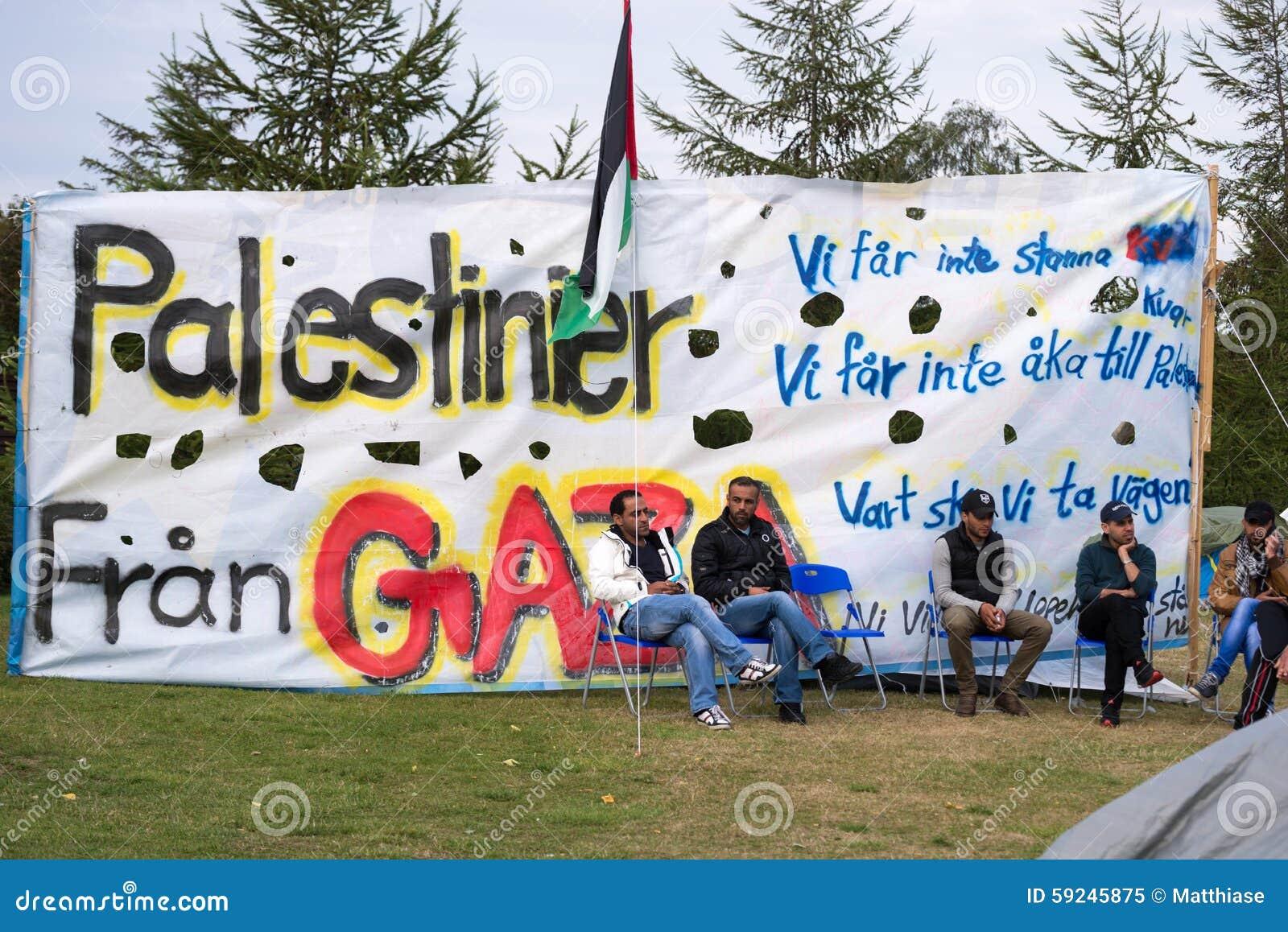 Download Inmigrantes De Gaza - Suecia 2015 Imagen editorial - Imagen de iraq, sucio: 59245875