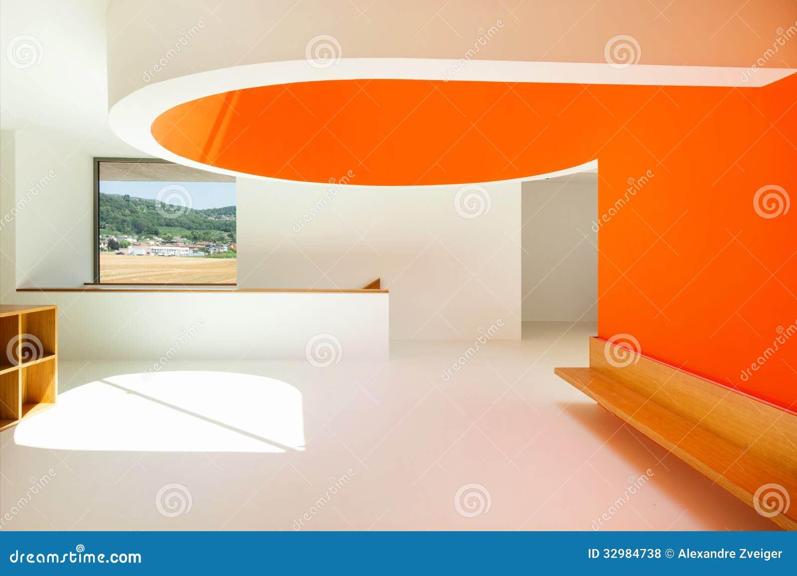 Innen-, moderne Schule stockfoto. Bild von schule, niemand - 32984738