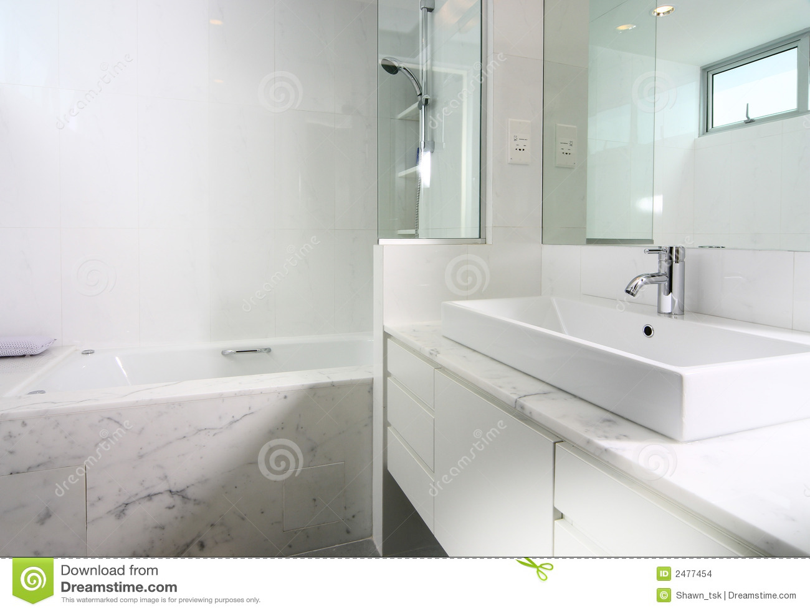 innenarchitektur badezimmer stockbilder bild 2477454. Black Bedroom Furniture Sets. Home Design Ideas