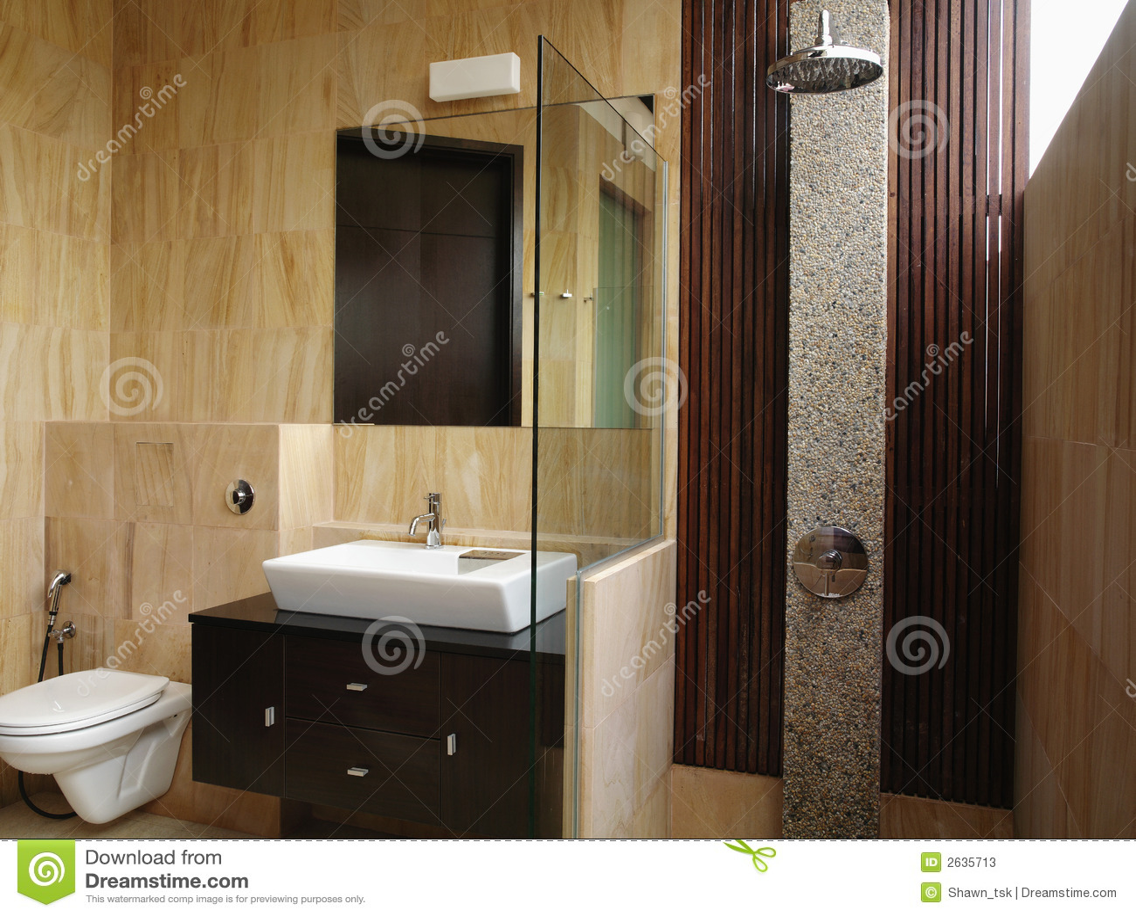 innenarchitektur badezimmer stockbild bild 2635713. Black Bedroom Furniture Sets. Home Design Ideas