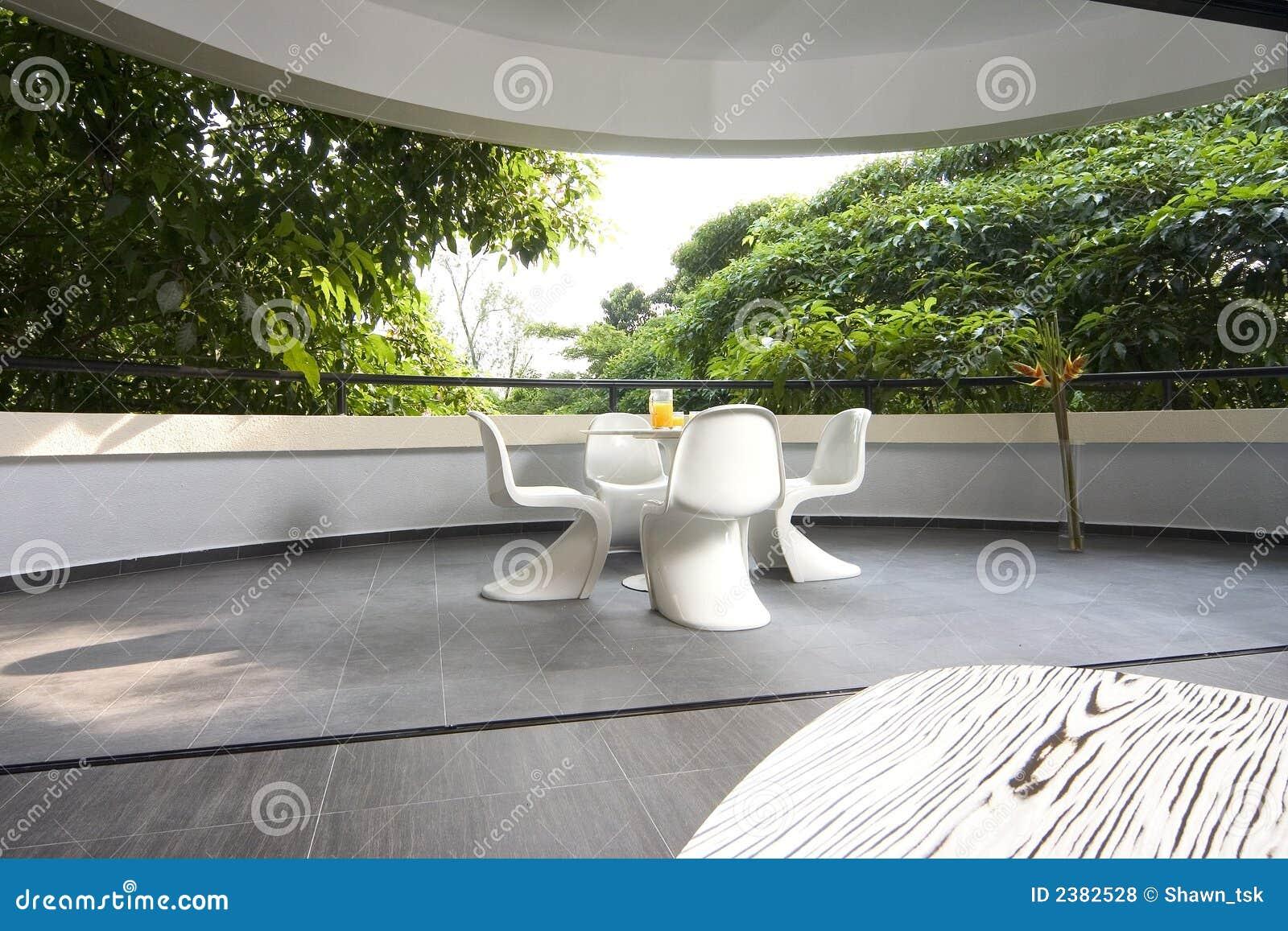 innenarchitektur balkon stockfoto bild von betriebe 2382528. Black Bedroom Furniture Sets. Home Design Ideas