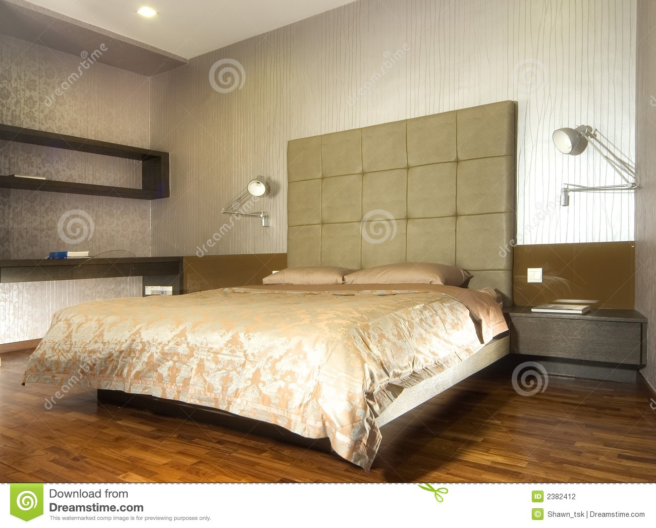 innenarchitektur schlafzimmer stockfotografie bild. Black Bedroom Furniture Sets. Home Design Ideas