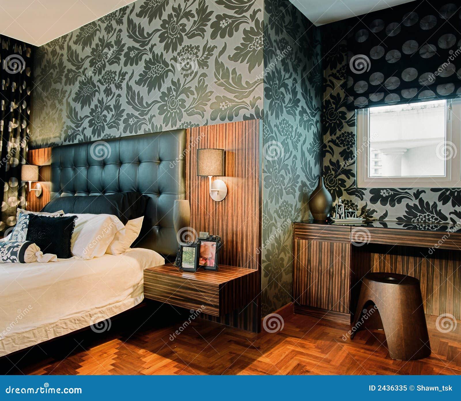 Innenarchitekt schlafzimmer  Innenarchitektur - Schlafzimmer Lizenzfreies Stockfoto - Bild: 2436335