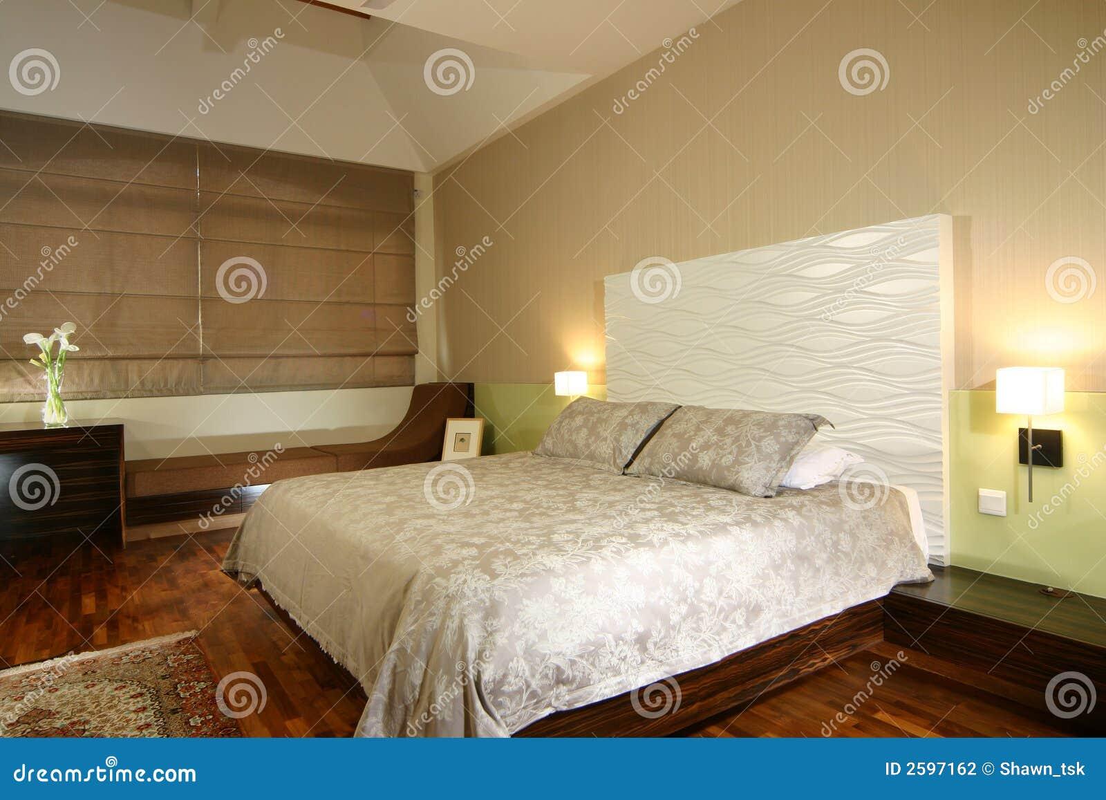 Innenarchitektur schlafzimmer stockfotografie bild 2597162