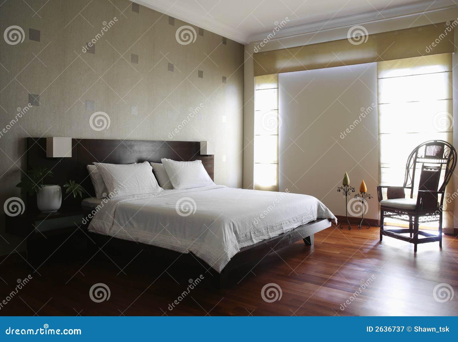 Innenarchitektur - Schlafzimmer Lizenzfreie Stockfotografie - Bild ...