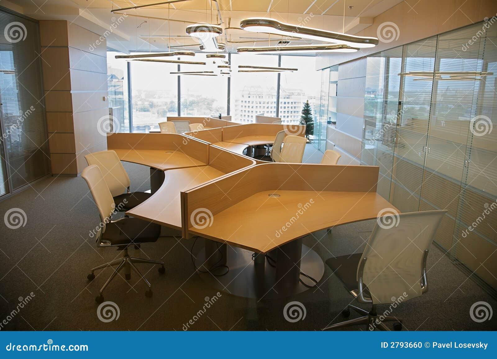 Innenraum des Büros