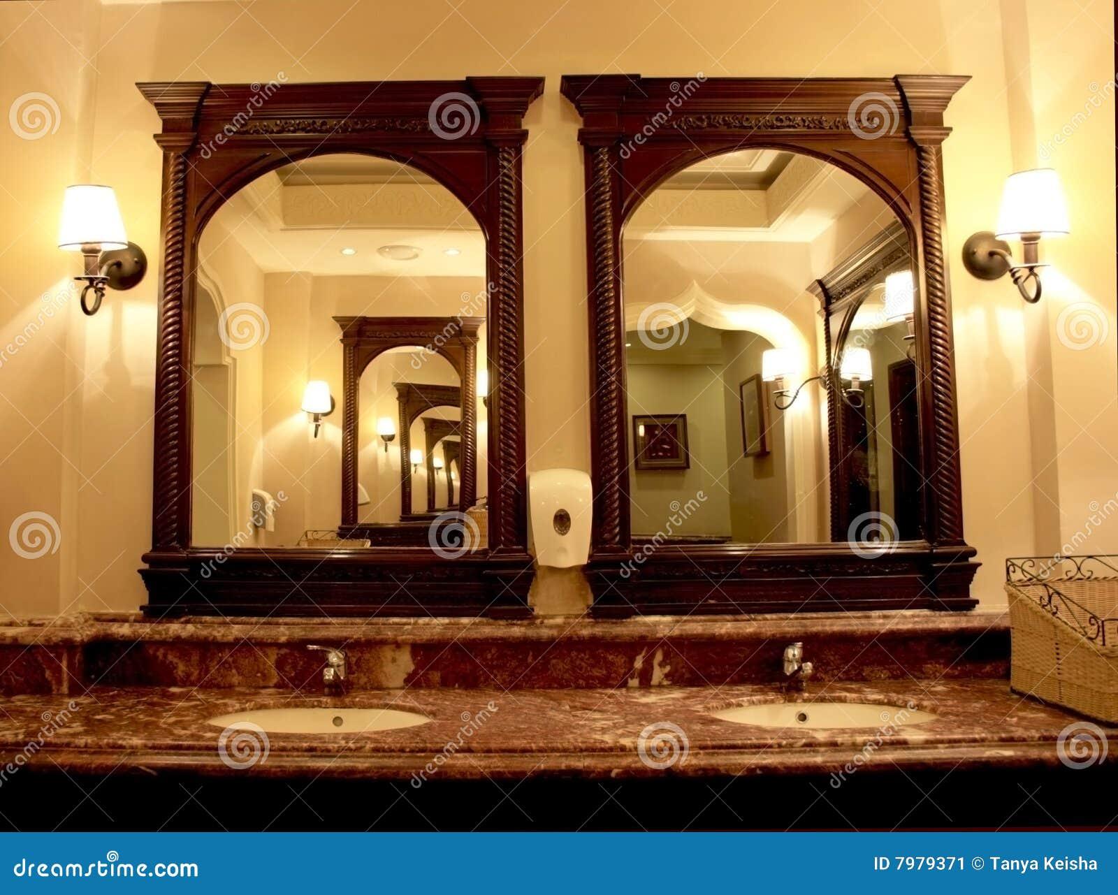 Innenraum des Badezimmers