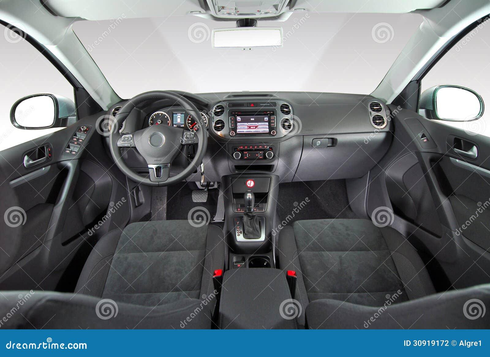 innenraum eines modernen autos stockfoto  bild von stuhl
