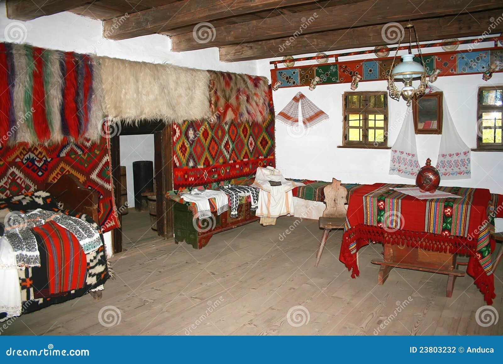 Innenraum in Maramures - Rumänien