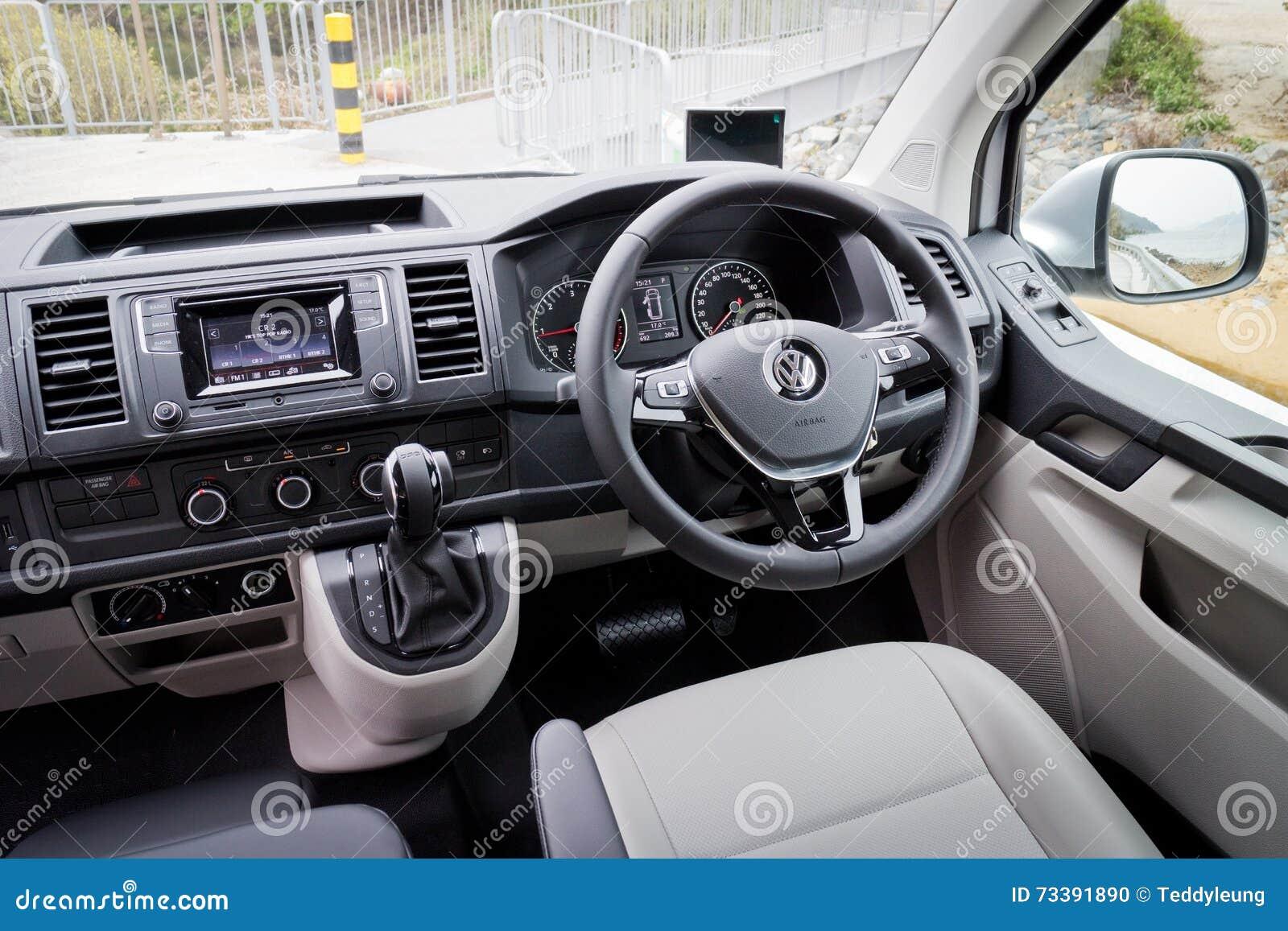 Innenraum Volkswagen-Transporter-2016 Redaktionelles Bild - Bild von ...