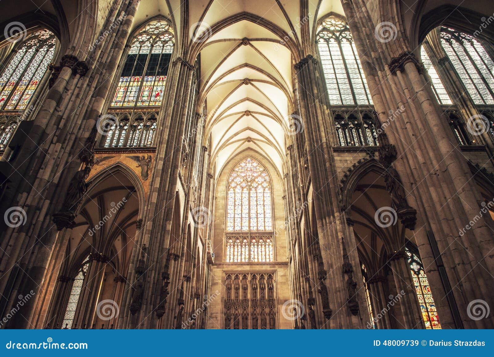 Innenraum von Köln-Kathedrale