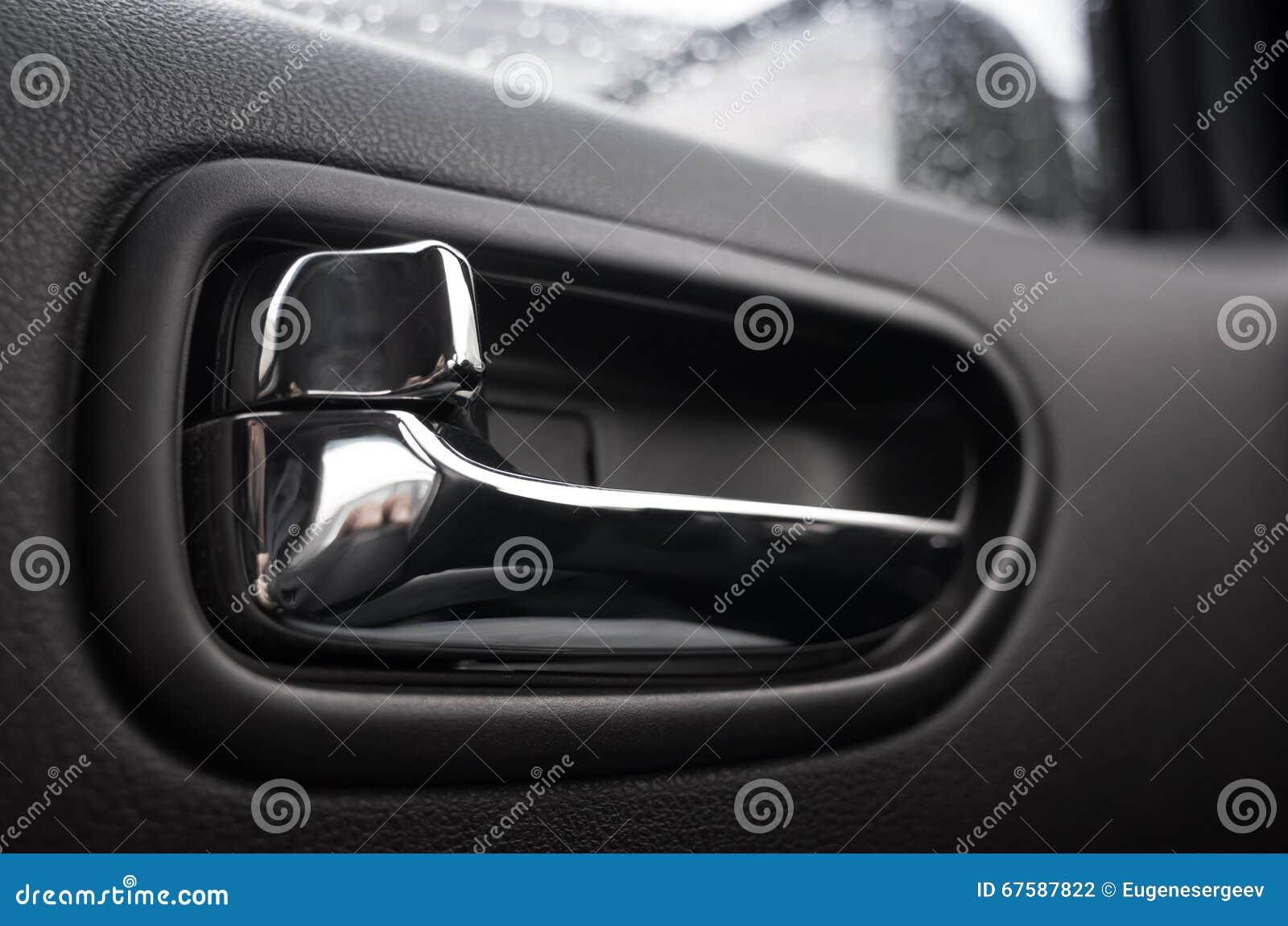 Inner Door Handle Car Interior Detail Stock Photo Image Of Inner