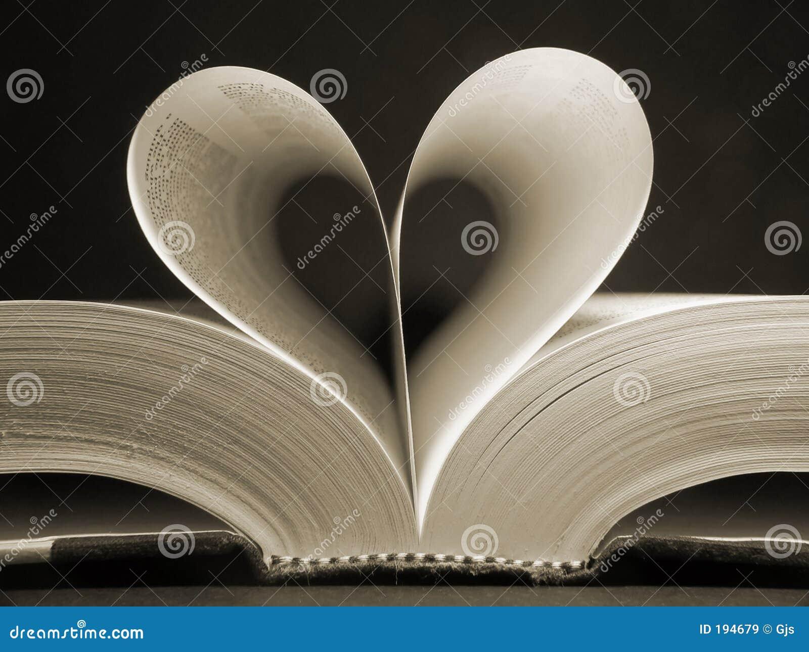 Inner-geformtes Buch