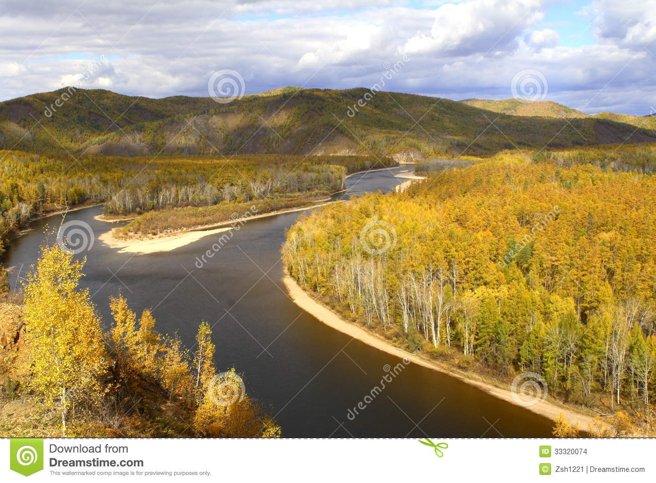 Hulun Buir China  city pictures gallery : Inner Mongolia Grassland Stock Images Image: 33320074
