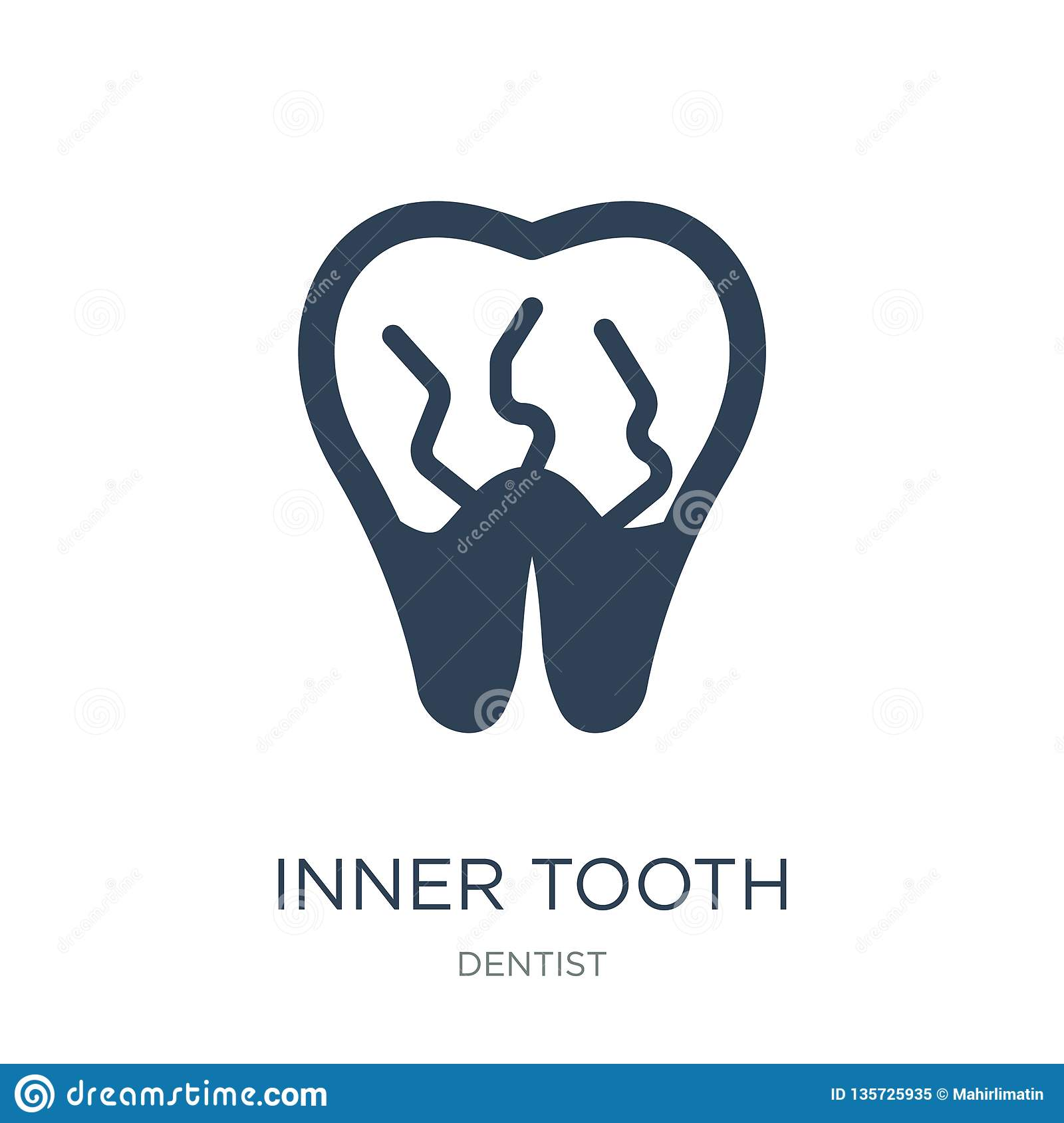 Structure Tooth Vector Illustration