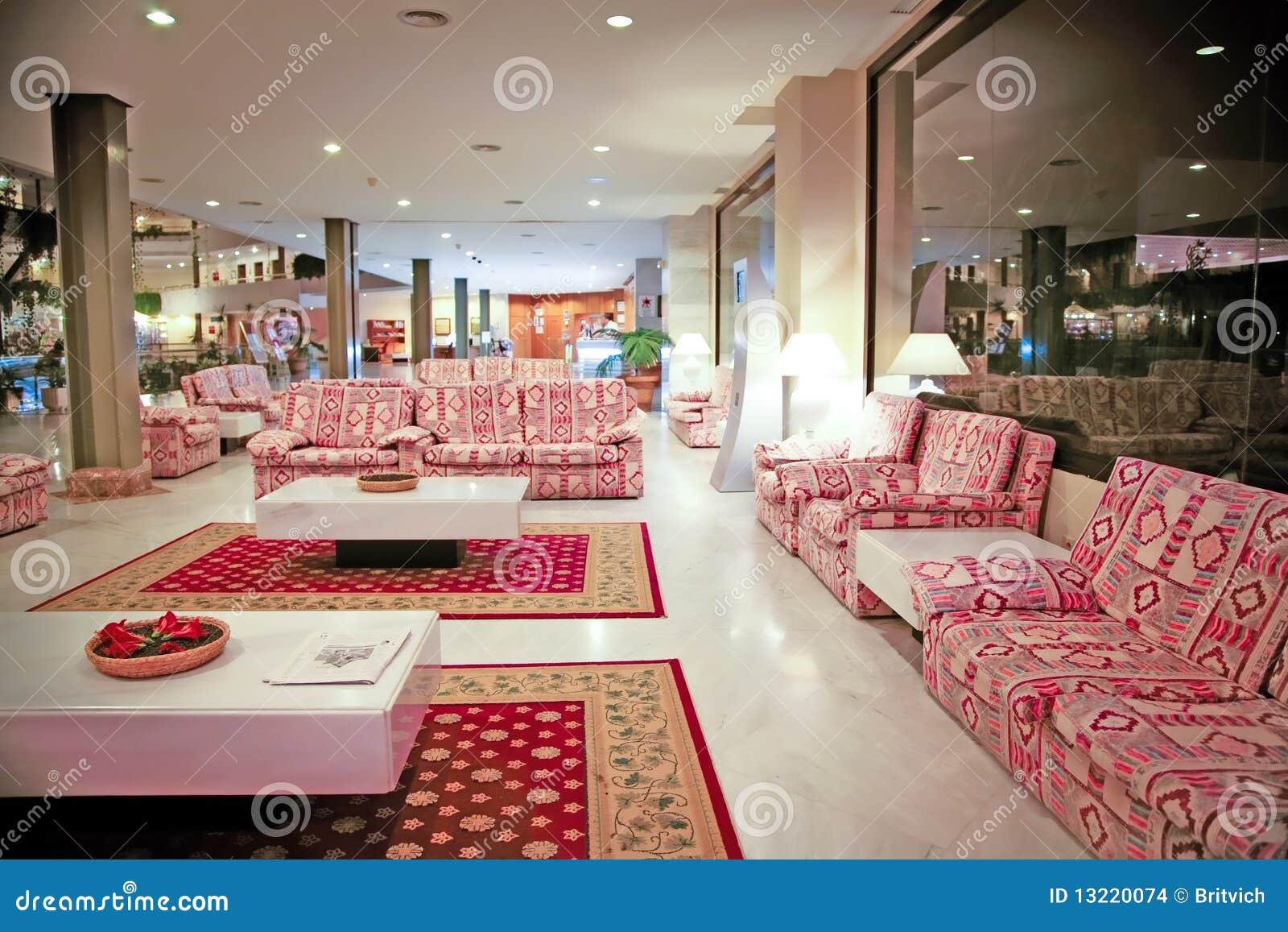 Innere Luxus Hotelansicht