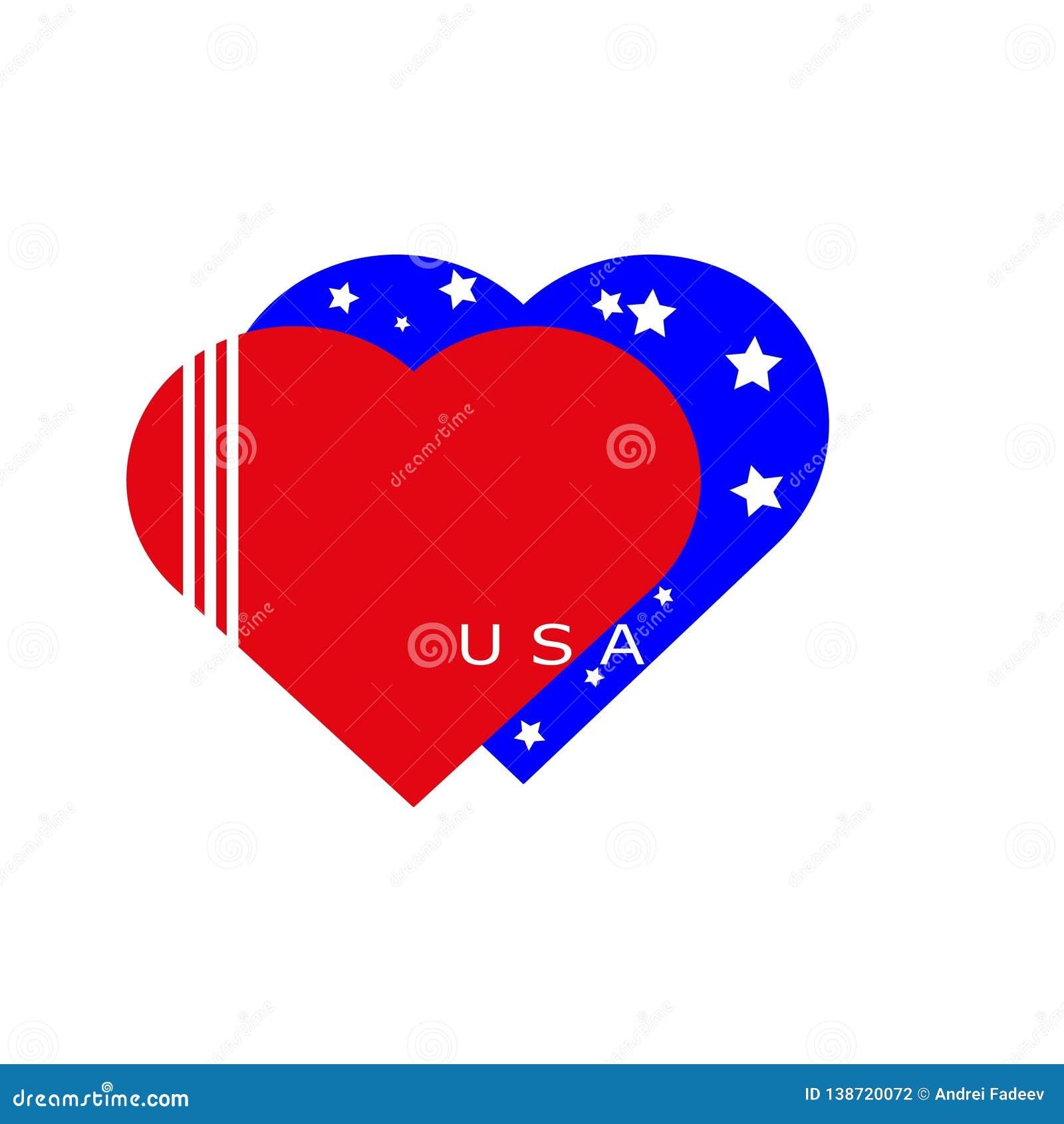 Inneres Amerika Markierungsfahne von Amerika