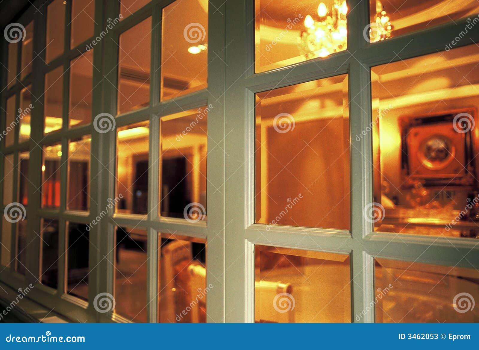 Innerhalb des Fensters