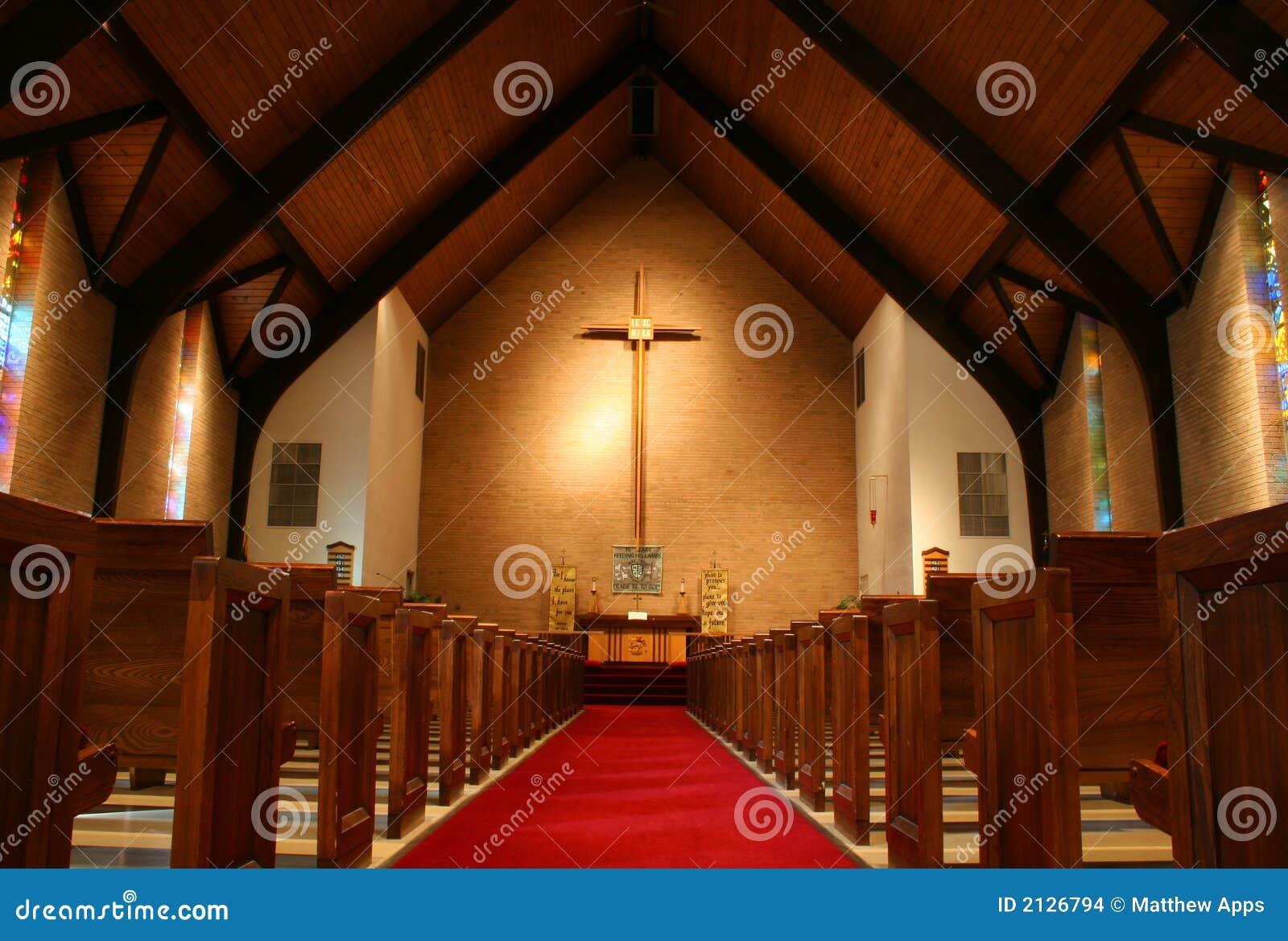 Innerhalb einer Kirche
