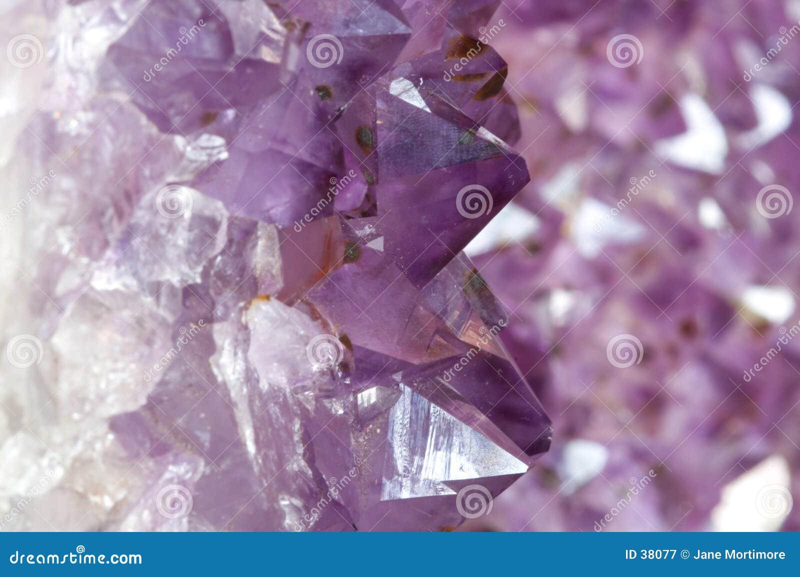 Innerhalb eines Amethyst Geode 1