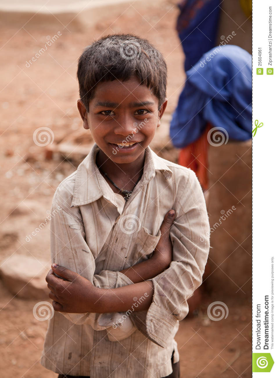 Innocent Happy Indian Child Editorial Photo Image 25604961
