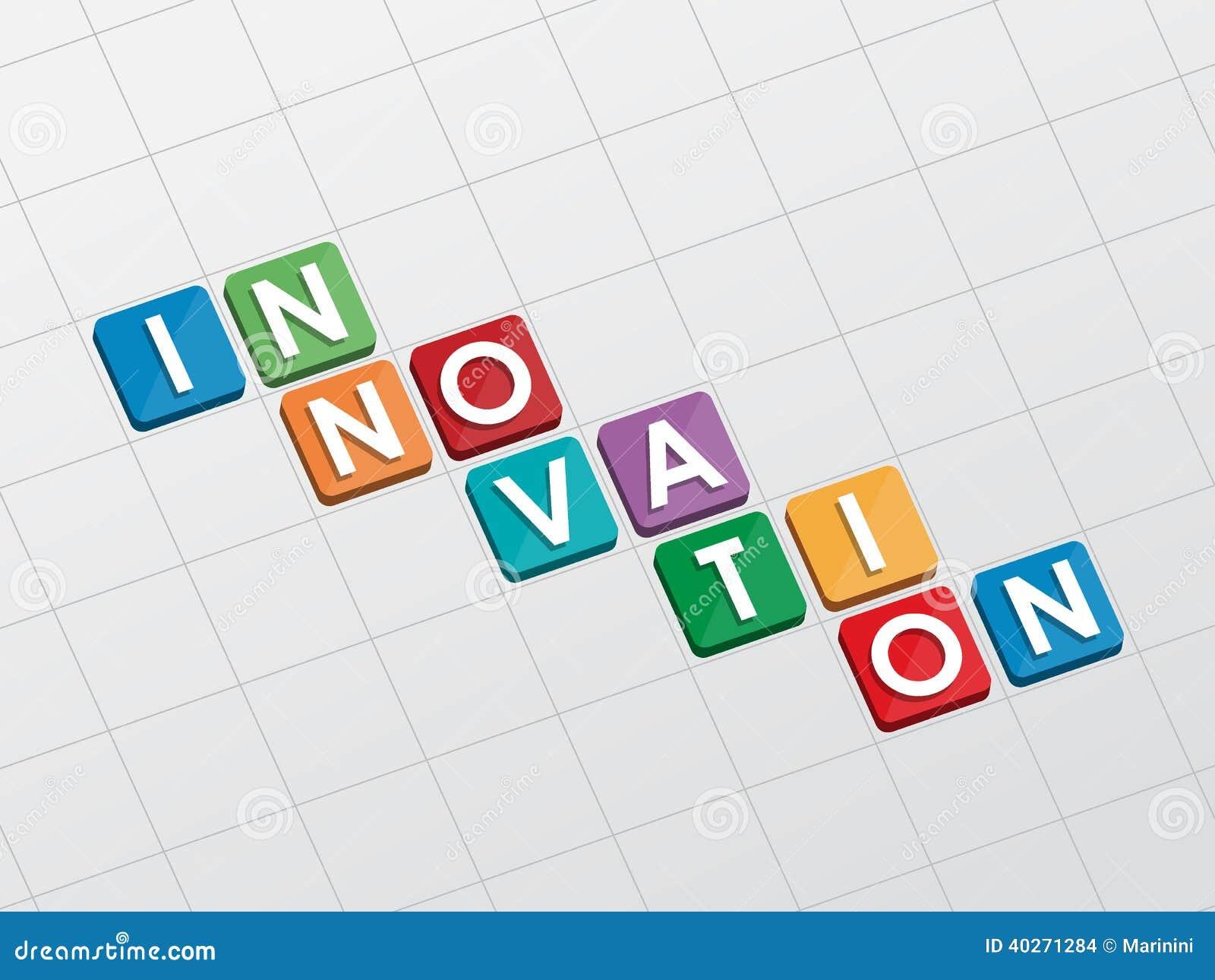 Innovation flat design stock illustration image 40271284 for Innovative design company