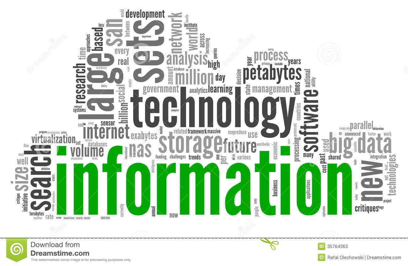 Technology Management Image: Innovation And Technology Concept In Tag Cloud Stock