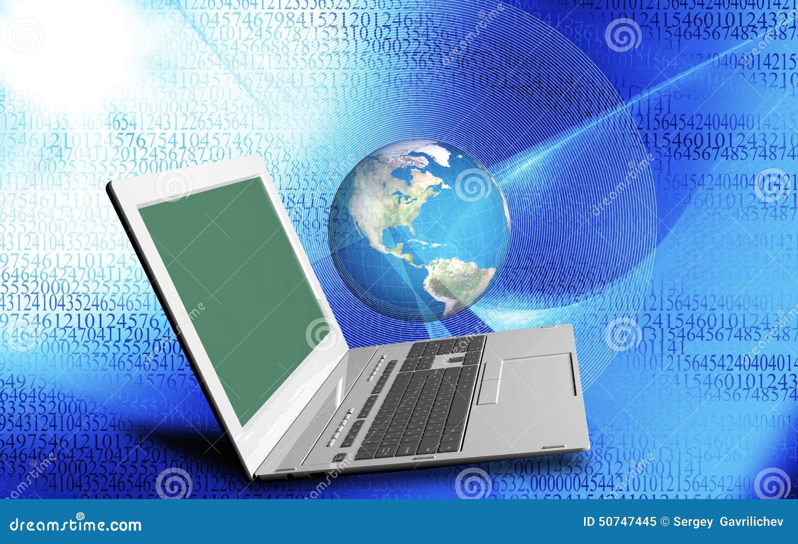 Innovative Computer Internet-Technologien für Geschäft