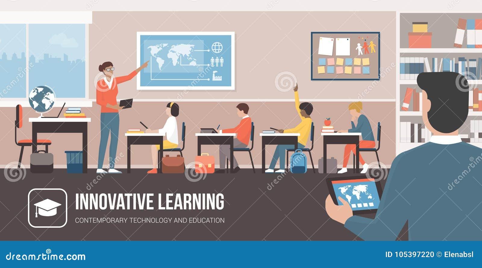 Innovtive teknologi i klassrumet