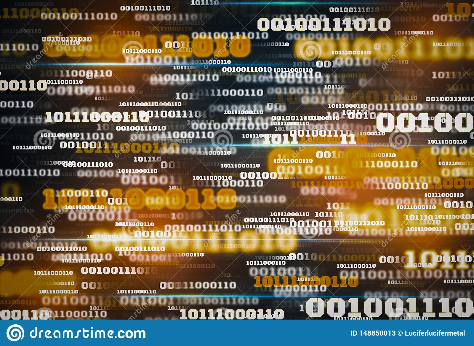 Innowacja cyfrowych dane binarnego kodu t?a futurystyczna technologia, poj?cie wspornikowi duzi dane i internet rzeczy dla,