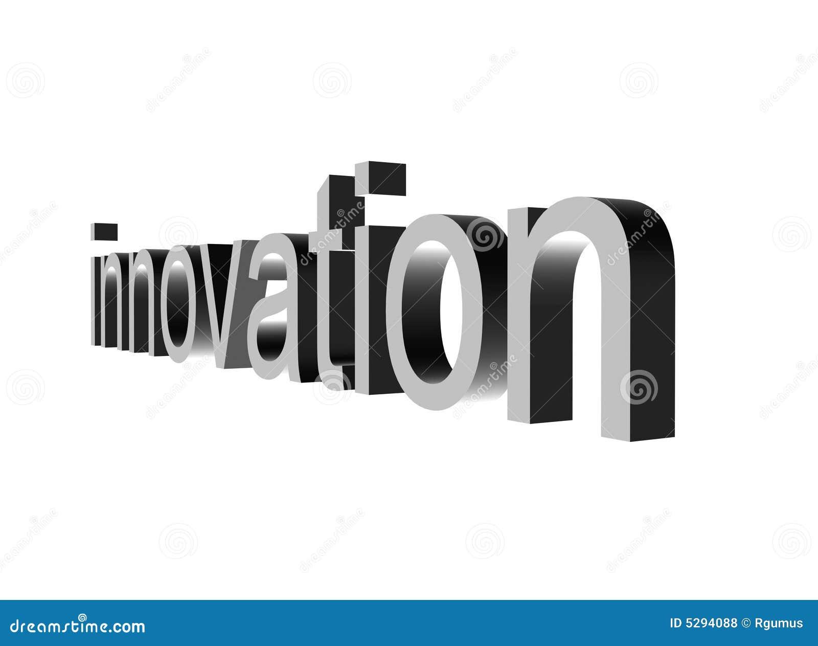 Innowacje perspektywiczny white