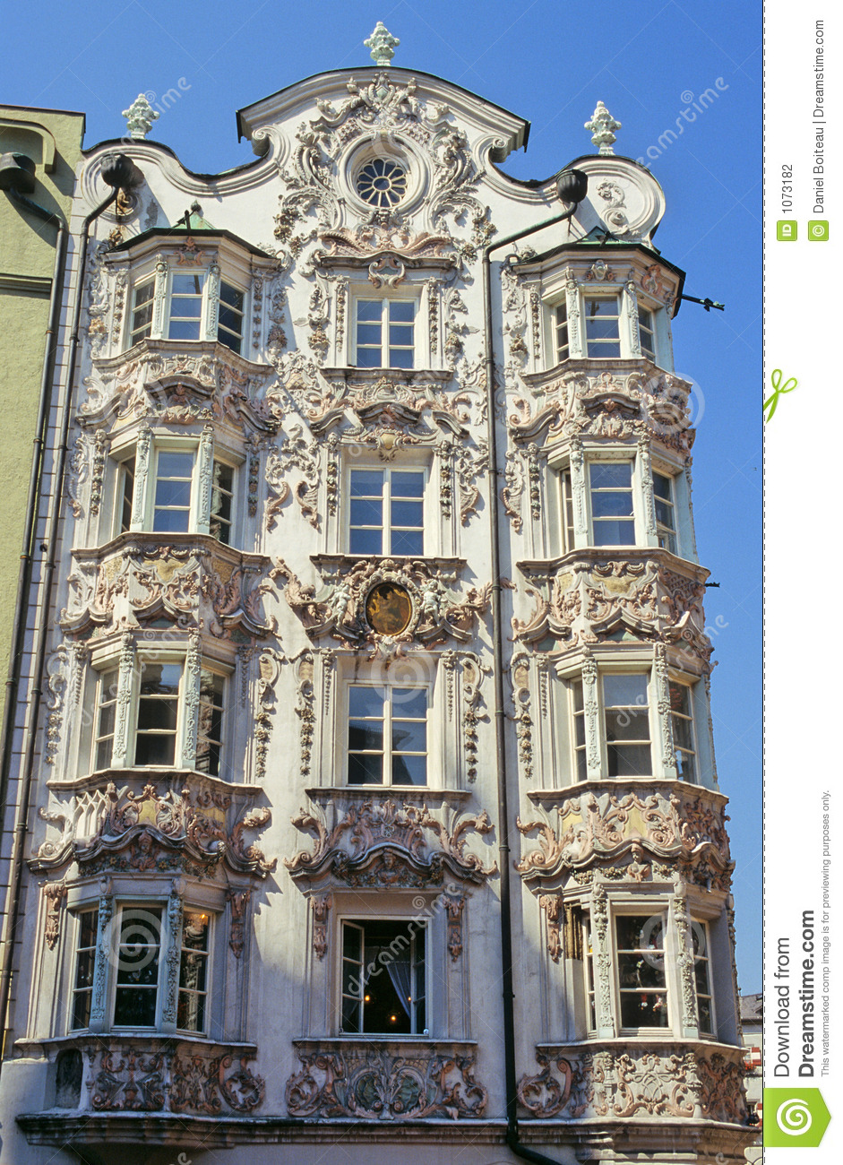 innsbruck rococo stock photography image 1073182