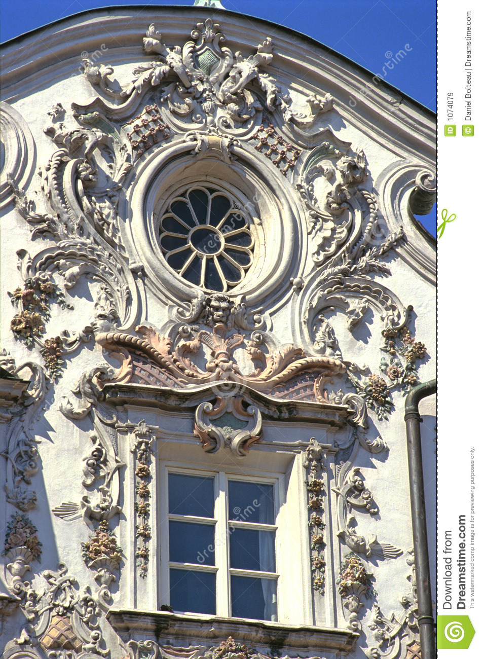 Innsbruck rococo royalty free stock images image 1074079 for Interior design innsbruck