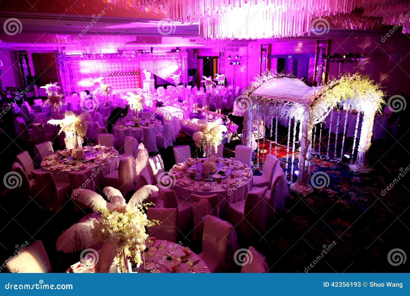 Inomhus bröllopplats
