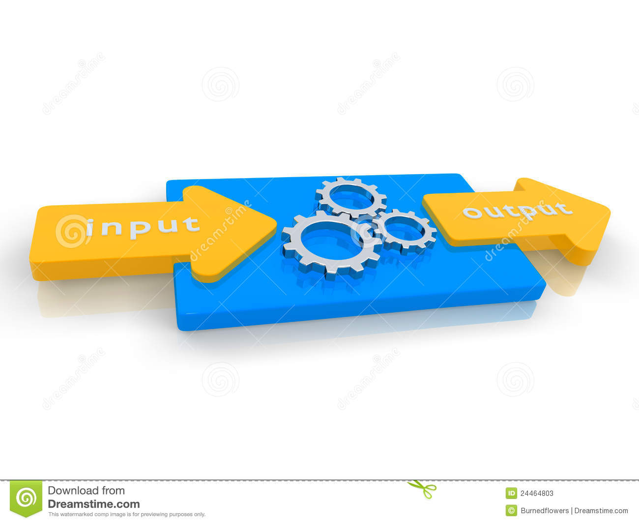Input Output Graphic Stock Photos  Image: 24464803