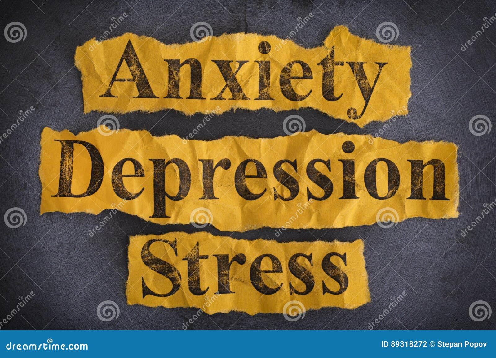 Inquiétude, dépression et effort de Word