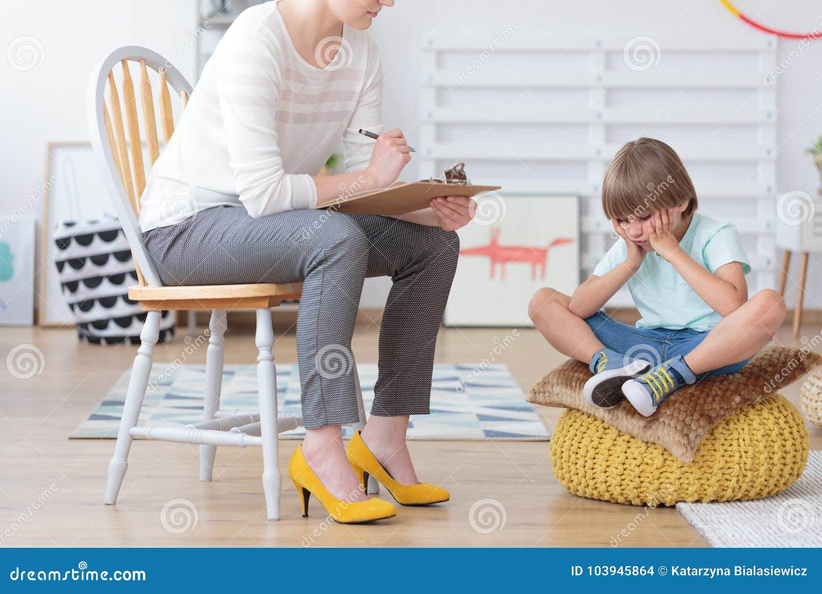 Inquiétude d enfants et concept de dépression