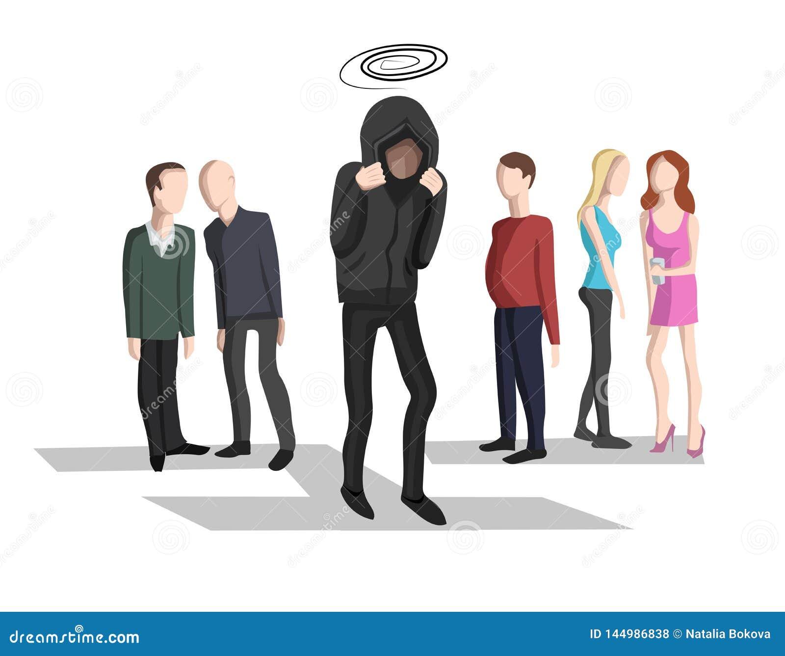 Inquiétude sociale, phobie sociale