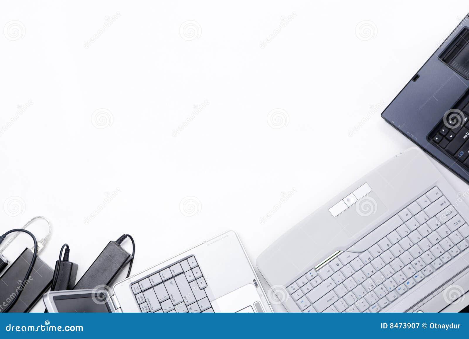Inramning bärbar dator