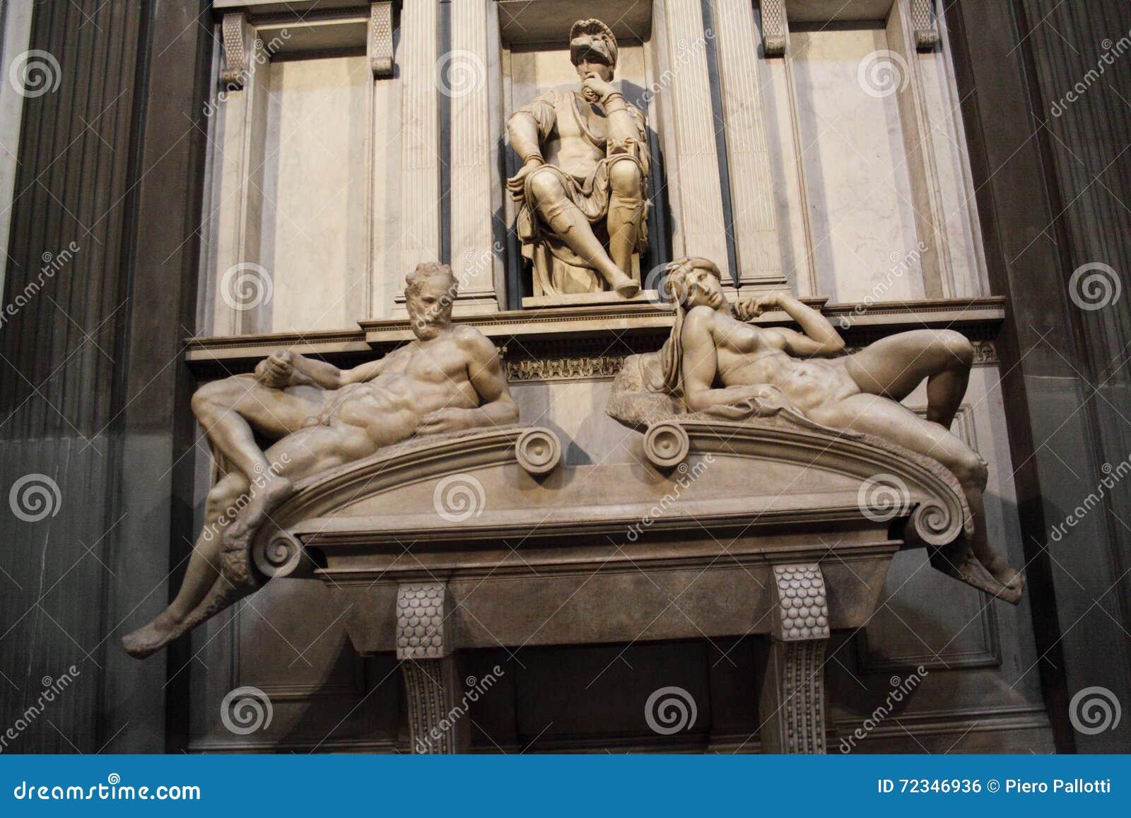 Inre av det Medici kapellet, Florence