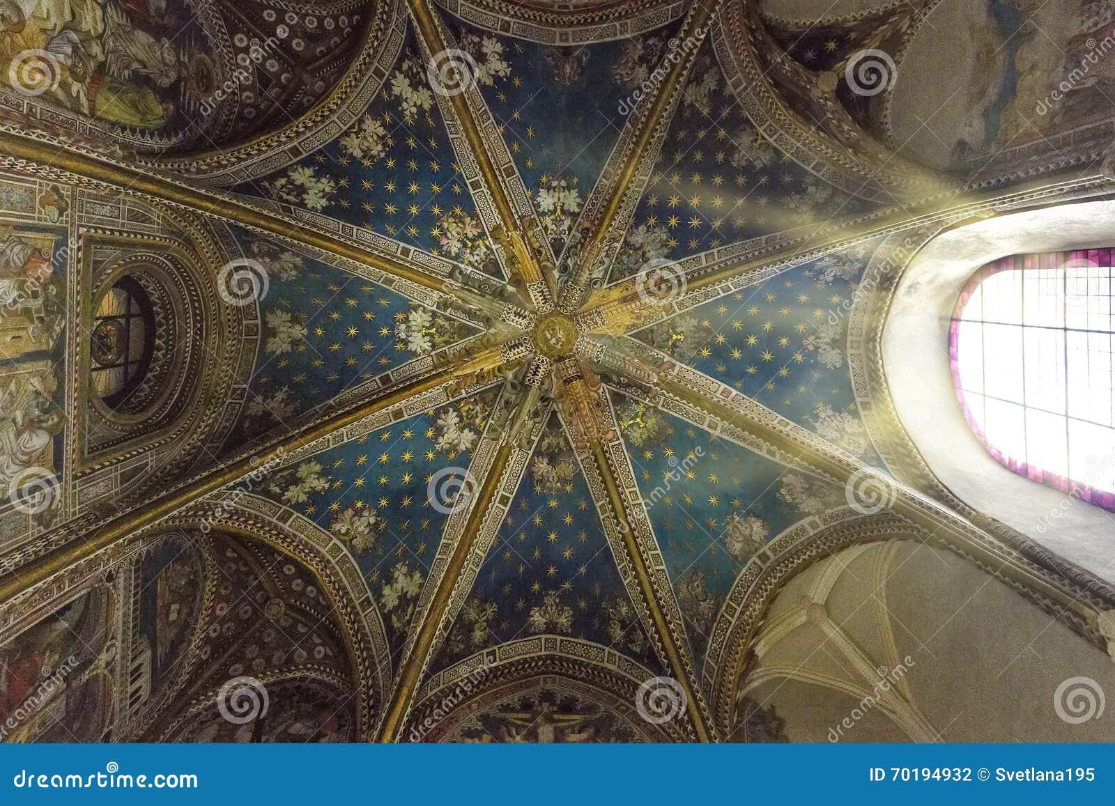 Inre av Toledo Cathedral