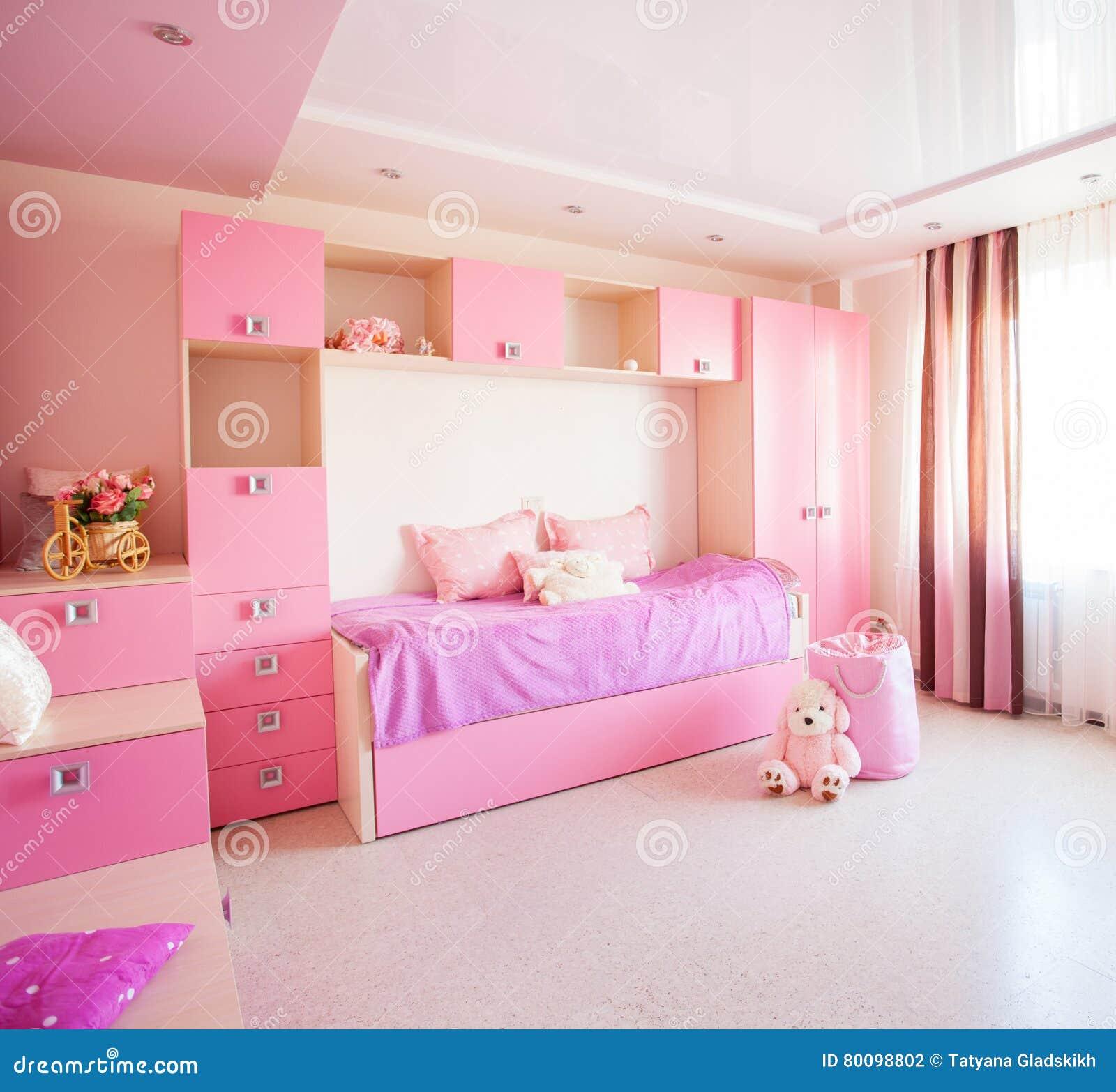 Inre barnkammare för flicka