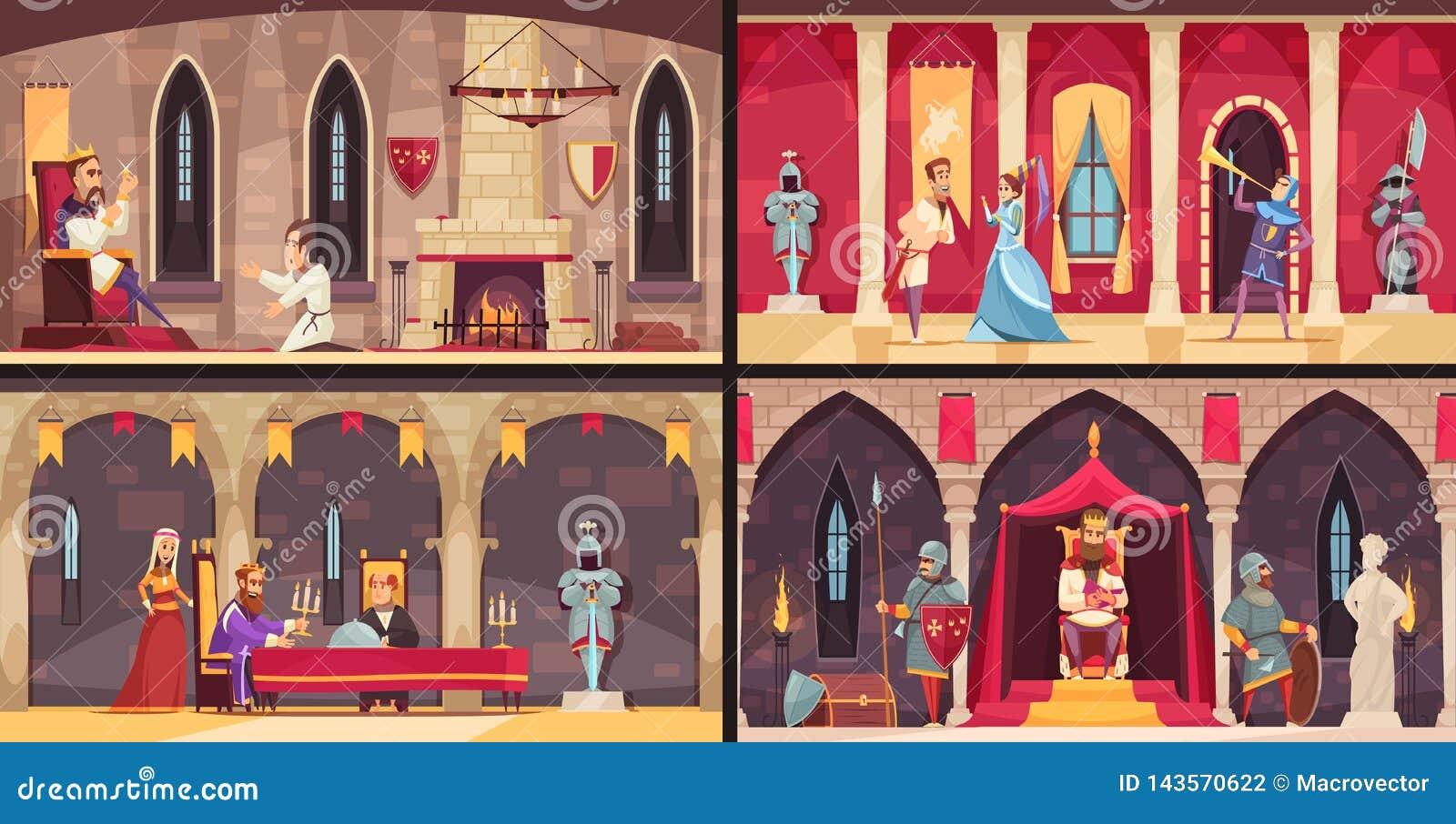 Inre begrepp för slott