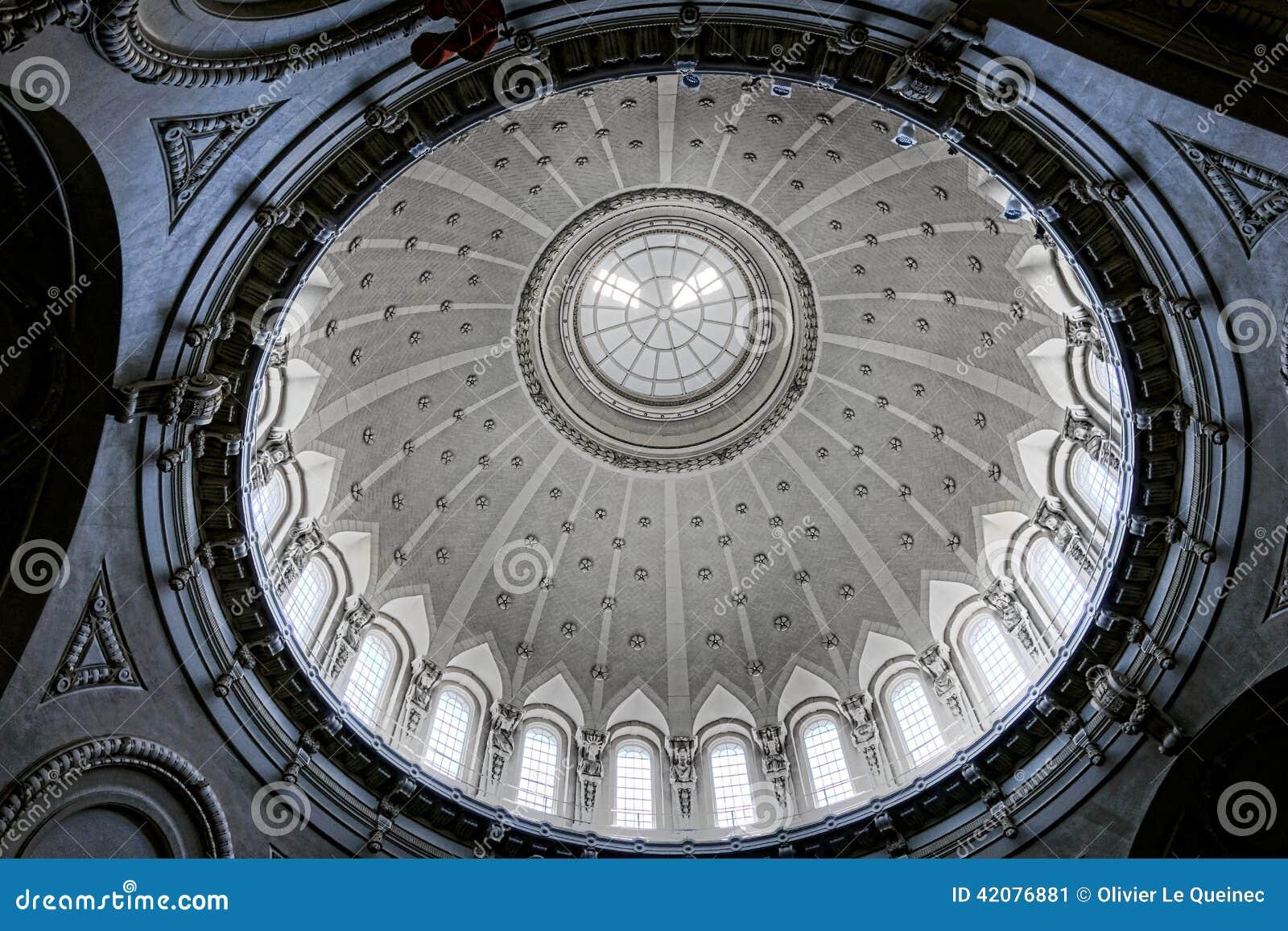 Inre för kupol för kapell för sjö- akademi för Förenta staterna