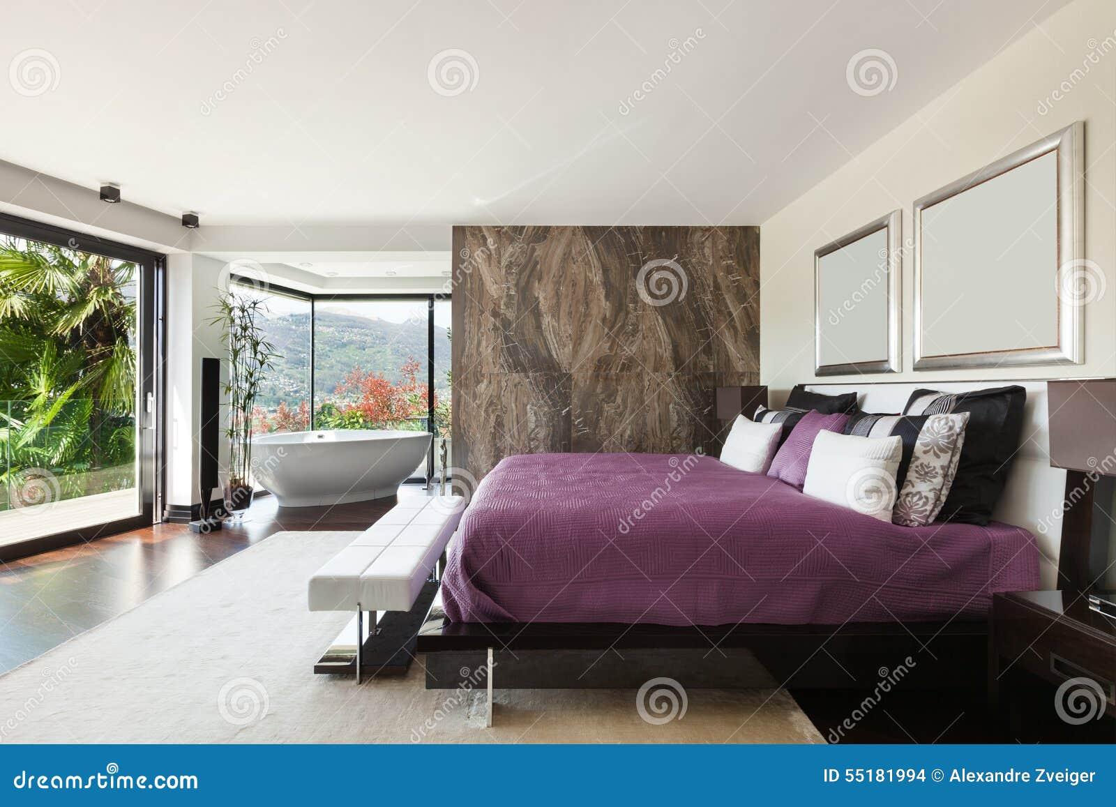 Inre lyxigt sovrum
